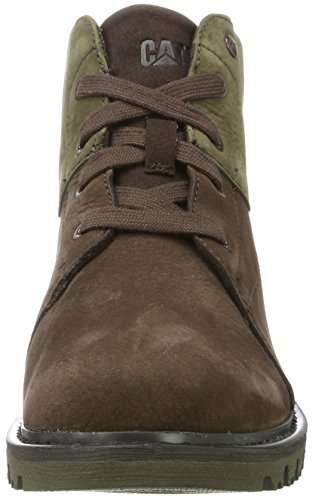 Marrón Bean Coffee Botas Dark WP Fret para Fur Olive Caterpillar Women Mujer 8w4z7z