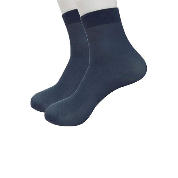 Gusspower Calcetines Mujer Sección delgada, deportivo Casual calcetines Color sólido Transpirable (Armada): Amazon.es: Ropa y accesorios