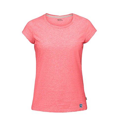 shirt Peach Mujer Fjallraven Pink Camiseta T W Greenland 4awaqgE6
