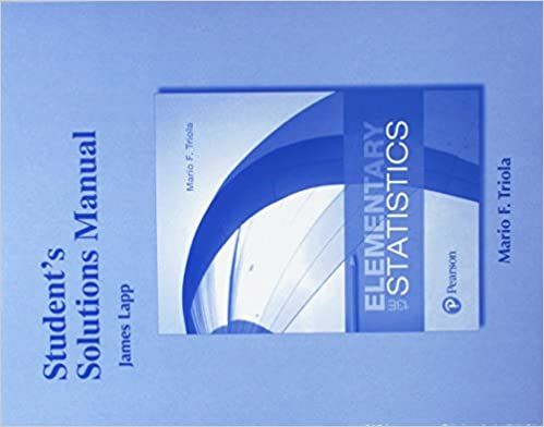 Amazon students solutions manual for elementary statistics students solutions manual for elementary statistics 13th edition fandeluxe Choice Image