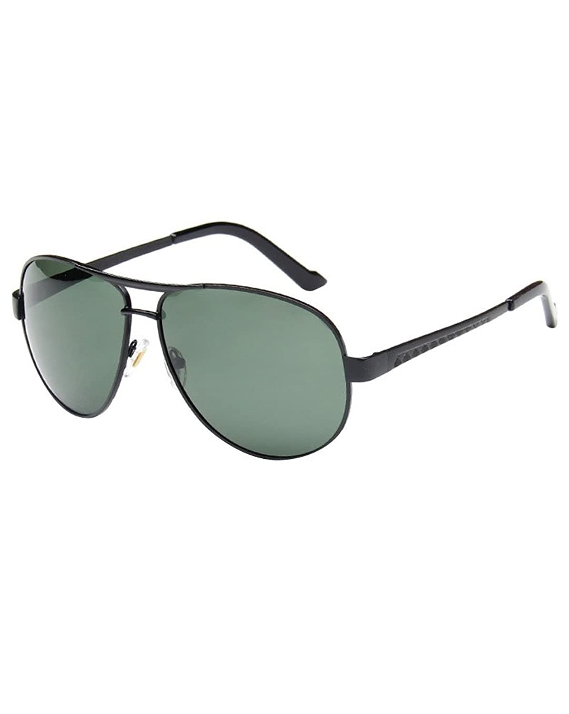 89de3cd8a5 Lovely MissFox Gafas de Sol Moda Aviador para Mujer y Hombre Lente Talla  única UV400 Piloto