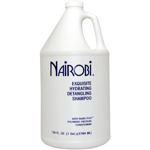 Nairobi Exquisite Hydrating Detangling Shampoo for Unisex, 128 Ounce