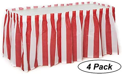 Striped Carnival Circus decorations Oojami product image
