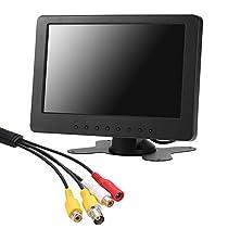Docooler S701 7インチ TFT LCDモニタースクリーン 16:9 1024 * 6...
