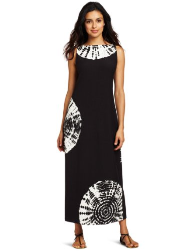 Jones New York Women's Boatneck Long Dress