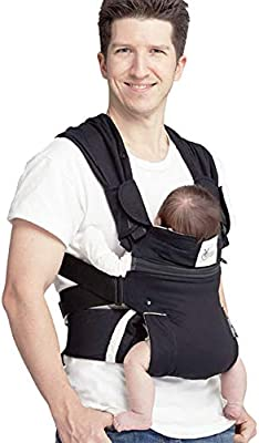 YEBBbdzg Portabebés, recién Nacido a niño pequeño 4 en 1 Sling Suave ...