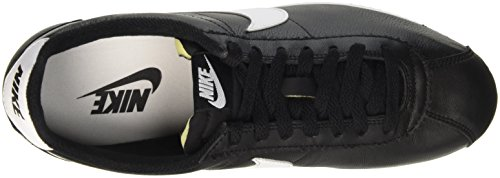 Nike Herre Klassisk Cortez Prem Løbesko, Hvid, 44 Eu Sort / Hvid / Grå (sort / Hvid-neutral Grå)