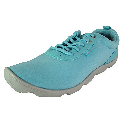 Crocs Womens Duet Busy Day Lace up Shoes, Ice Blue/Pearl White, US 8 For Sale