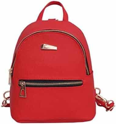 Sameno Baby Boys Girls Kids Plane Pattern Animals Backpack Toddler School  Bag (Red) 920714bac51de