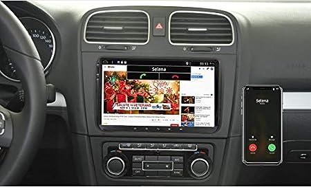 JOYX Autoradio Android 10 Estéreo Compatible con VW Golf/Skoda ...
