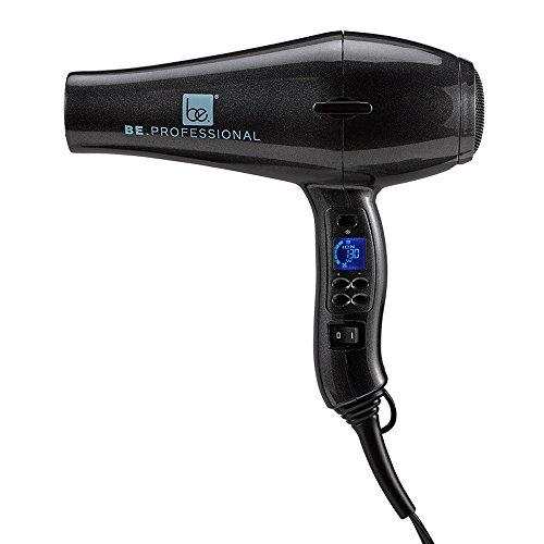 Be Professional Digital Blow Dryer Long Nozzle, Pearl Black