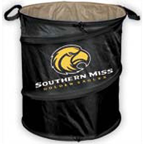 Logo Chair Southern Mississippi Eagles NCAA Collapsible Trash Can LCC-207-35 ()