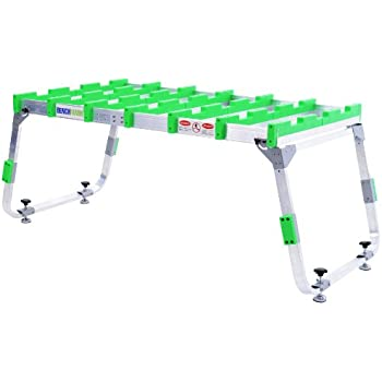 Benchmark Table T015 Starter Package with Portable Work Table, Adaptor Plate, and 4 Riser Pegs