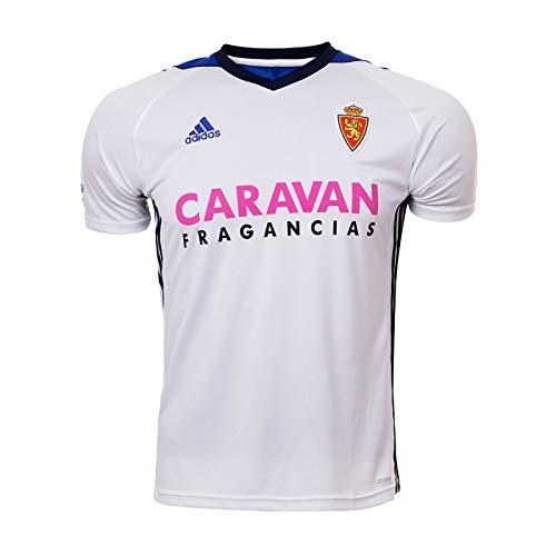 Adidas Real Zaragoza Camiseta de Equipación, Niños, Blanco, 116-5/6 años: Amazon.es: Deportes y aire libre