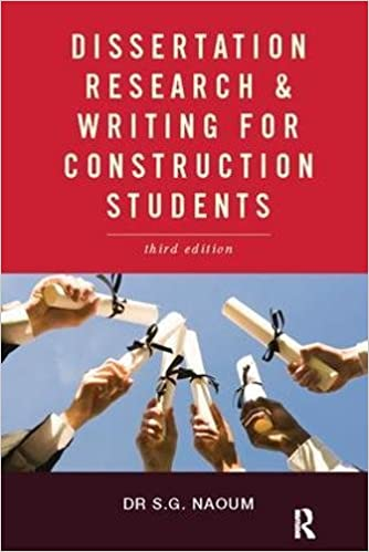 dissertation research and writing for construction students pdf