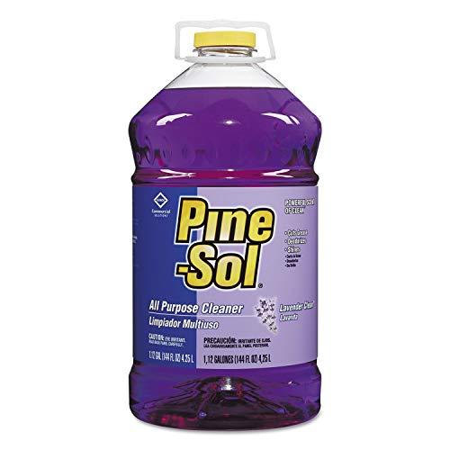 Pine-Sol gRTuPS 97301 Commercial Solutions Liquid Cleaner, 175.16 fl oz 5.18L Bottle, Lavender, 2 Bottles