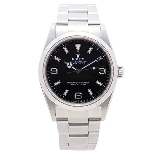 Rolex Explorer Automatic-self-Wind Male Watch 114270 (Certified (Pre Owned Mens Rolex)