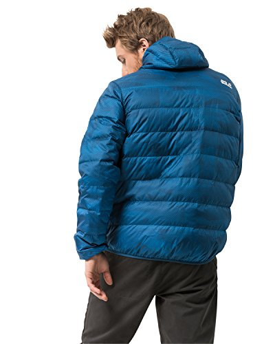 Jack Wolfskin mens Helium Snow Dust Windproof Hyper Dry Down Puffer Jacket