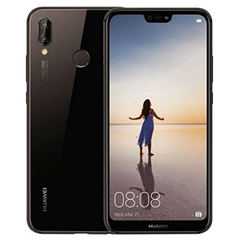 Huawei P20 Lite ANE-LX3 32GB + 4GB, 5.84″ Dual SIM LTE Factory Unlocked Smartphone – International Model – No Warranty (Midnight Black)