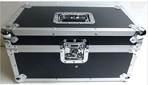 "7"" Dbl Row Record Box ATA Flight Case Holds 200-plus Vinyl R"