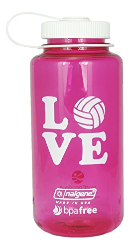 Nalgene 32 oz. BPA Free Love Volleyball Water Bottle