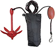 Extreme Max 3006.6548 BoatTector Complete PWC Anchor Kit with Rope/Marker Buoy/Storage Bag