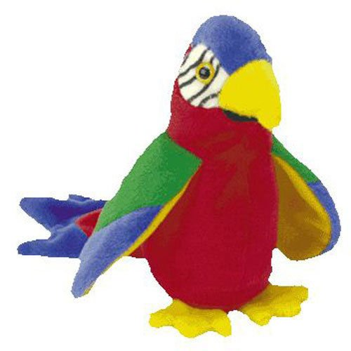 (USA Warehouse) TY Beanie Baby - JABBER the Parrot, used for sale  Delivered anywhere in USA