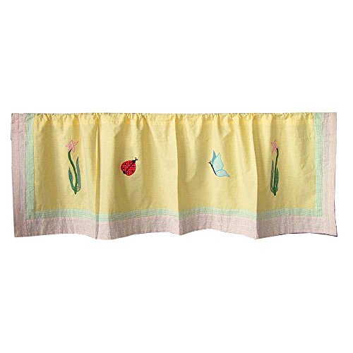 Patch Magic Ladybug Curtain Valance, 54-Inch by ()