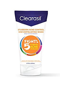 Clearasil Ultra 5in1 Exfoliating Wash, 6.78 oz. Pack of 6