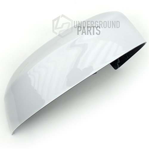 Underground Parts Right Offside Drivers Side Wing Mirror Cover Cap Frozen White