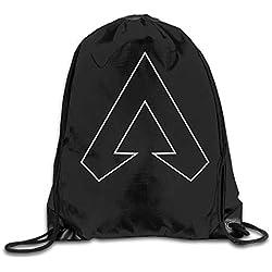 Drawstring Bag Apex Legends Unique Logo Gym Sport Bags Cinch Sacks Travel Hiking Backpack For Men Women