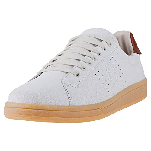 Fred Perry Men's B721 Men's Leather Porcelain Tennis Shoes
