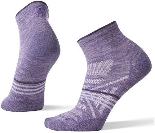Light Mini Socks Outdoor (Smartwool Women's PhD Outdoor Ultra Light Mini Lavender Medium)