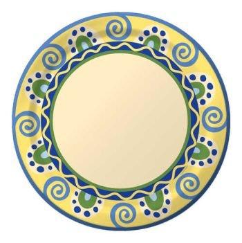 Mediterranean Pottery 10-1/4-inch Plates  sc 1 st  Amazon.com & Amazon.com: Mediterranean Pottery 10-1/4-inch Plates: Kitchen \u0026 Dining