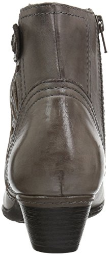 Cobb Hill Donna Abilene Boot In Pelle Grigia