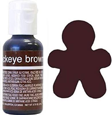 Amazon.com: Liqua-Gel Food Coloring Buckeye Brown: Kitchen ...