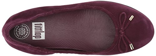 Fitflop Mujeres Superbendy Ballerinas Loafer Flat Deep Plum