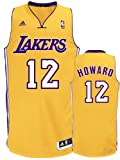 NBA Los Angeles Lakers Swingman Jersey, #12 Dwight Howard, Gold, X-Large