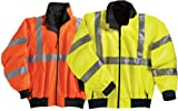 District Safety Jacket with Reflective Tape (Regular and Big & Tall Sizes)