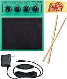 Roland SPD::ONE ELECTRO Percussion Pad Bundle with Power Supply, Drum Sticks, and Austin Bazaar Polishing Cloth
