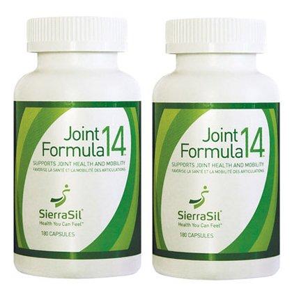 (SierraSil Joint Formula14, 180 capsules Combo Pack (2)