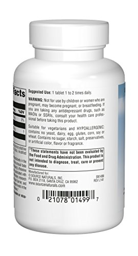 Source Naturals Serene Science L-Theanine 200mg Anti-Anxiety Supplement - 60 Capsules by Source Naturals (Image #1)