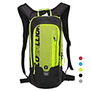 LOCALLION Cycling Backpack Biking Backpack Riding Daypack Bike Rucksack Breathable Lightweight for Outdoor Sports…