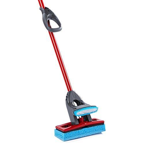 (O-Cedar Big Easy Flat Sponge Mop )