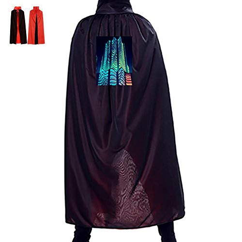 Warm season Twisted Architecture Double Hooded Robes