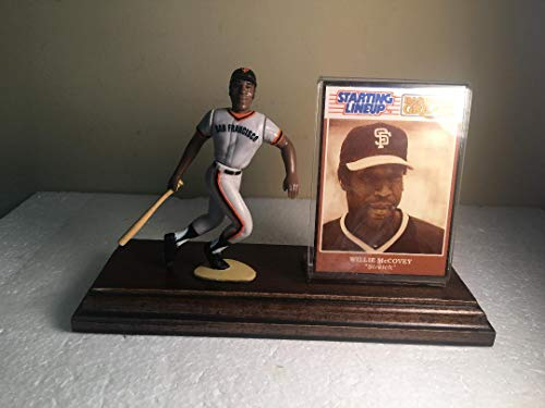 Willie McCovey San Francisco Giants Starting Lineup Figure Mounted on Custom Made Wood Base ()