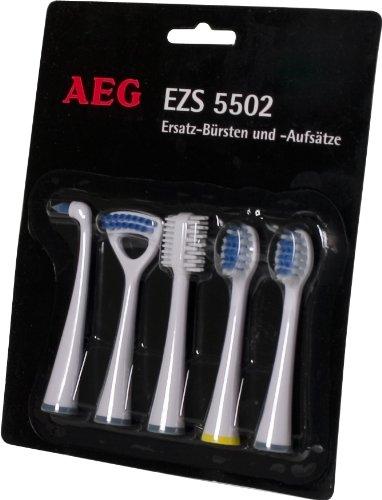 AEG EZ 5502 - Cabezales de repuesto para cepillo de dientes eléctrico (varias funciones,