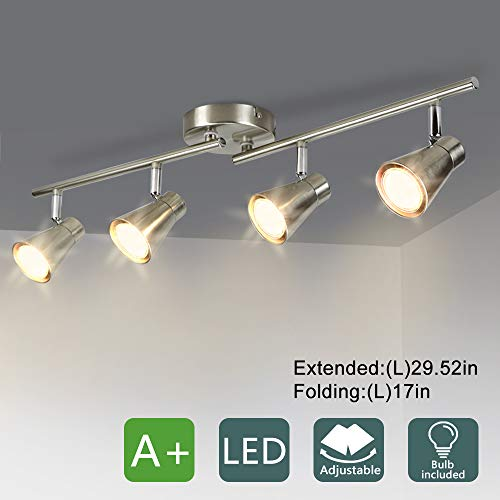 DLLT 4-Light Led Track Lighting Kit