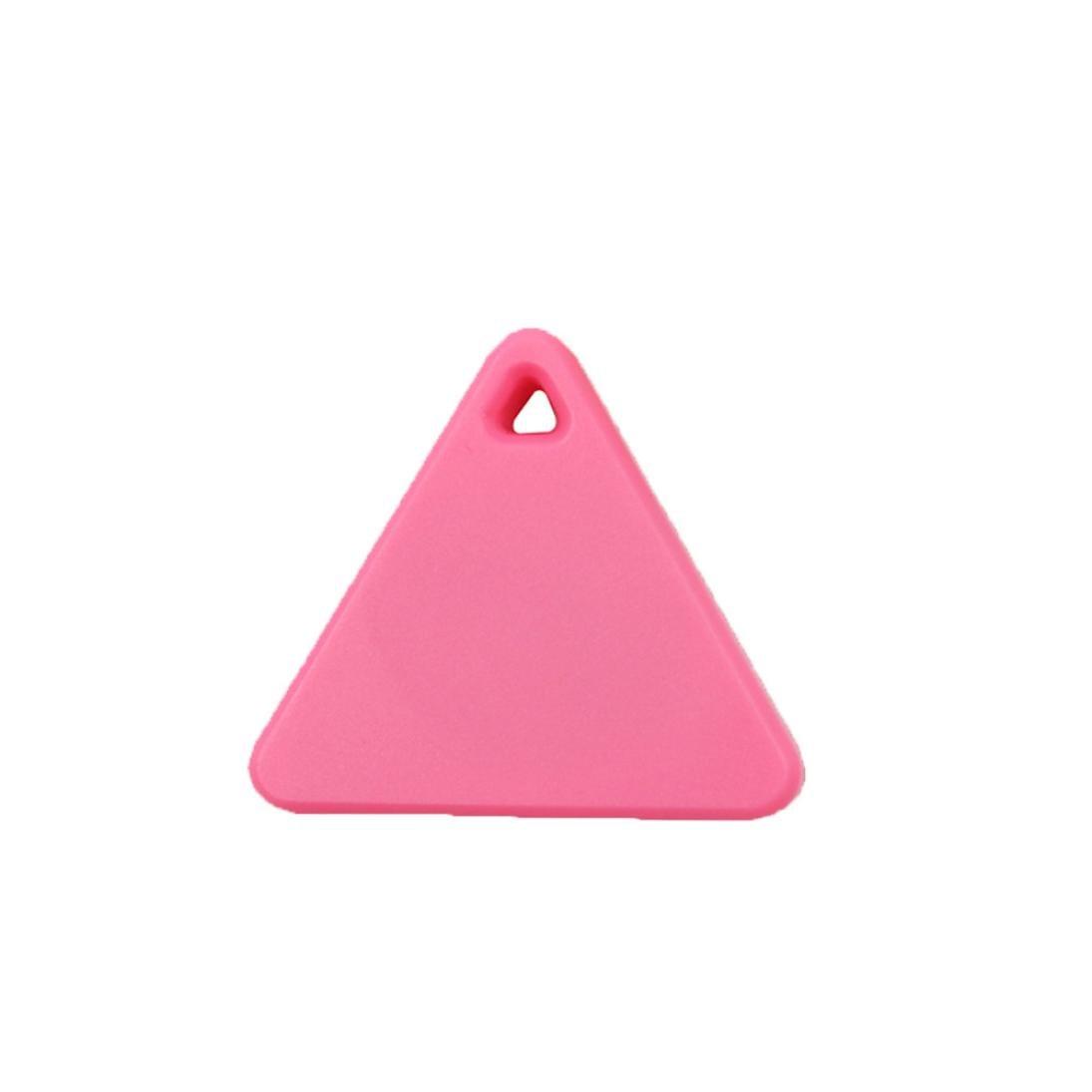 Gotd Bluetooth Mini GPS Tracker Locator Alarm Pet Child Wallet Key Finder (Pink)