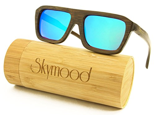 63d24489be1 SKYMOOD Sunglasses sunglasses polarized Bamboo